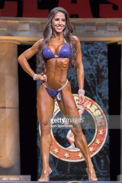 Angelica Teixeira competes in Bikini International as part of the Arnold Sports Festival on March 4 at the Greater Columbus Convention Center in...