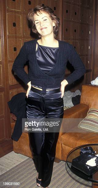 Angelica Torn attend the book party for Doug Richardson 'Dark Horse' on January 28 1997 at the Macaduno Club in New York City