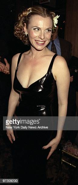 Angelica Torn attending opening night party of the play 'Side Man' at Tavern on the Green