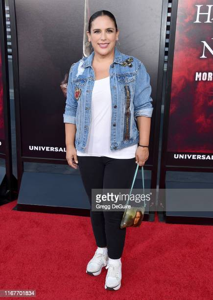 Angelica Vale arrives at the Opening Night Of Universal Studios' Halloween Horror Nights at Universal Studios Hollywood on September 12 2019 in...