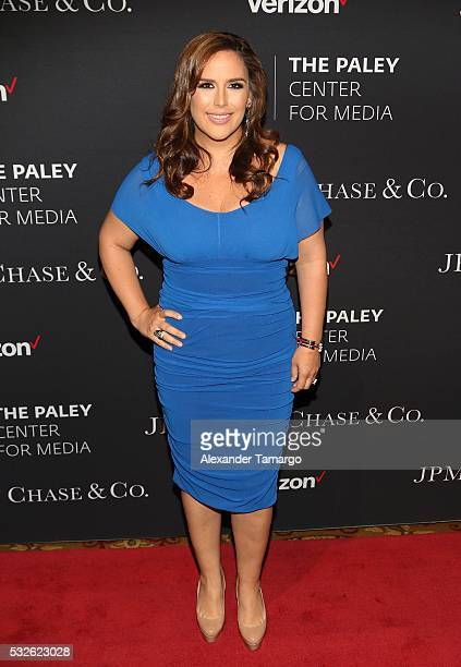Angelica Vale attends a Tribute to Hispanic Achievements In Television at The Paley Center for Media on May 18 2016 in New York New York