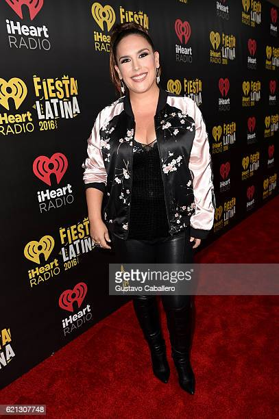 Angelica Vale attends iHeartRadio Fiesta Latina at American Airlines Arena on November 5 2016 in Miami Florida