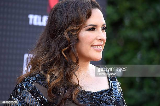 Angelica Vale attends Telemundo's Latin American Music Awards at the Dolby Theatre on October 8 2015 in Hollywood California