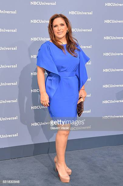 Angelica Vale attends the NBCUniversal 2016 Upfront Presentation on May 16 2016 in New York New York