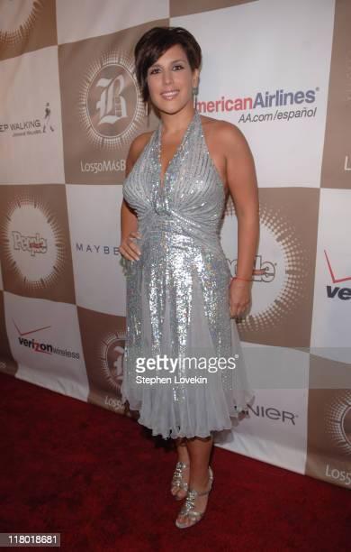 "Angelica Vale during People en Español's ""50 Most Beautiful"" Celebration at Splashlight Studios Red Carpet at Splashlight Studios in New York City..."