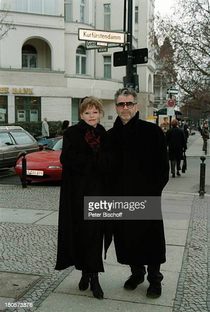 Angelika Domröse Hilmar Thate Berlin Deutschland Europa
