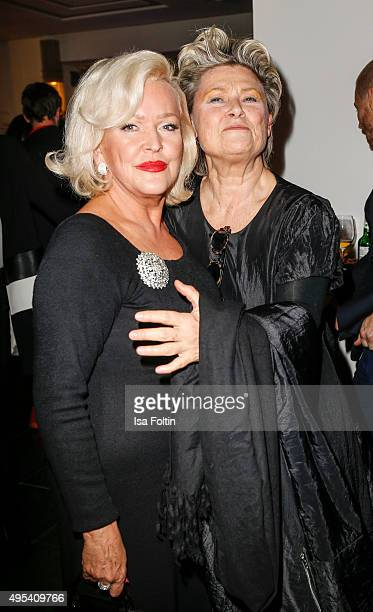 Angelika Milster and Gitte Henning attend the 1st Act Now Jugend Award at FriedrichstadtPalast on November 2 2015 in Berlin Germany