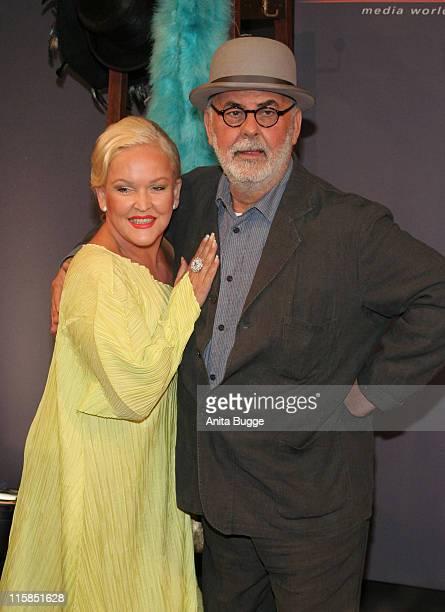 Angelika Milster and Udo Walz during Bertelsmann Publishing House Reception at Bertelsmann House in Berlin Berlin Germany