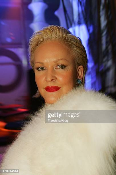 Angelika Milster at the aftershow party's 40th The award 'Golden Camera' Am In The Ullsteinhalle Of Axel Springer building in Berlin 090205