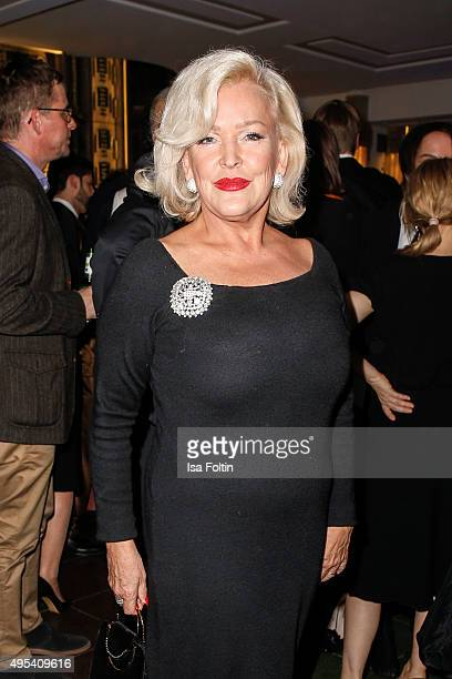 Angelika Milster attends the 1st Act Now Jugend Award at FriedrichstadtPalast on November 2 2015 in Berlin Germany