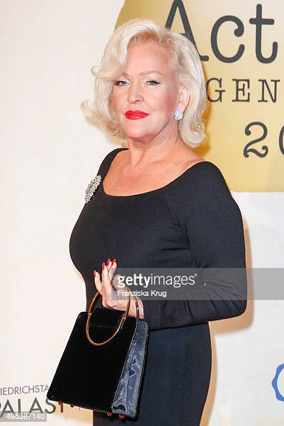 Angelika Milster attends the 1st Act Now Jugend Award on November 02 2015 in Berlin Germany
