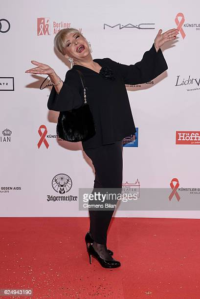 Angelika Milster attends the Artists Against Aids Gala at Stage Theater des Westens on November 16 2016 in Berlin Germany