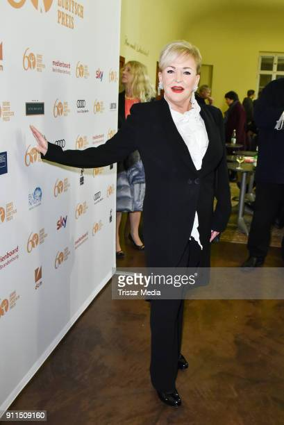 Angelika Milster during the 60 anniversary of Ernst Lubitsch Award on January 28 2018 in Berlin Germany