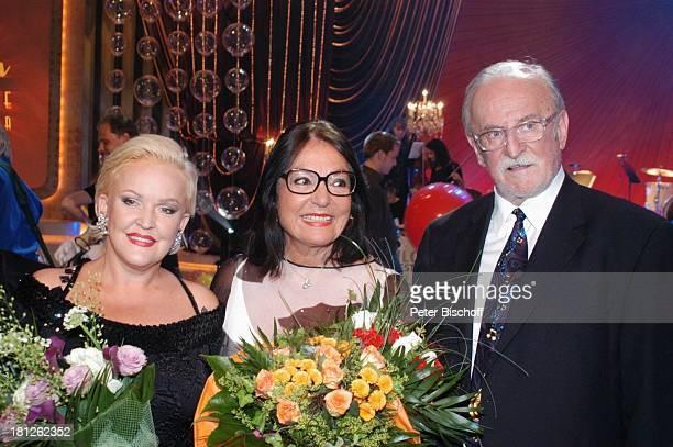 Angelika Milster Nana Mouskouri Konzertveranstalter Fritz Rau ARDShow Herzlichen Glückwunsch die M I C A E L S C H A N Z E Jubiläumsgala Europapark...