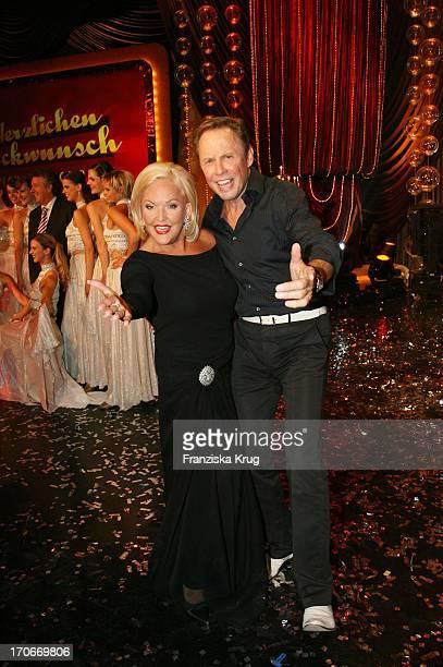 Angelika Milster Und Peter Kraus In Der Ard Show Herzlichen Glückwunsch Die Michael_Schanze Jubiläumsgala In München