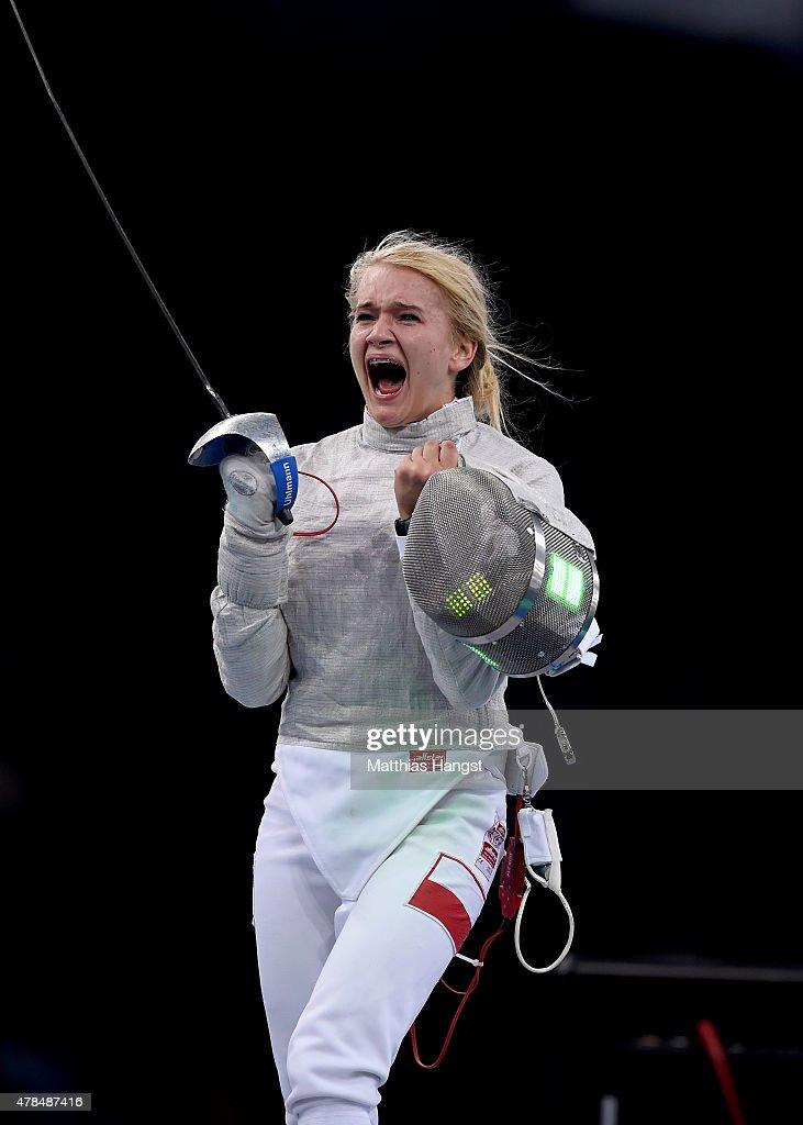 Fencing Day 13: Baku 2015 - 1st European Games : Nachrichtenfoto