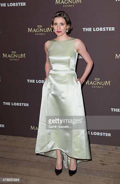 Angeliki Papoulia attends the after party for 'The Lobster' during the 68th annual Cannes Film Festival on May 15 2015 in Cannes France