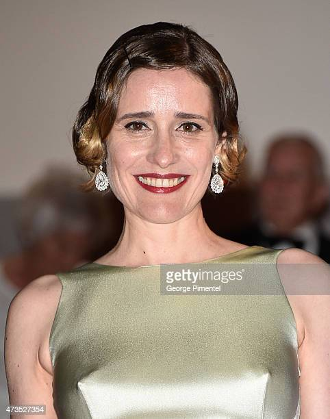 Angeliki Papoulia attends the 'Lobster' Premiere during the 68th annual Cannes Film Festival on May 15 2015 in Cannes France