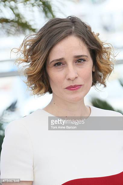 Angeliki Papoulia attends the 'The Lobster' photocall during the 68th annual Cannes Film Festival on May 15 2015 in Cannes France