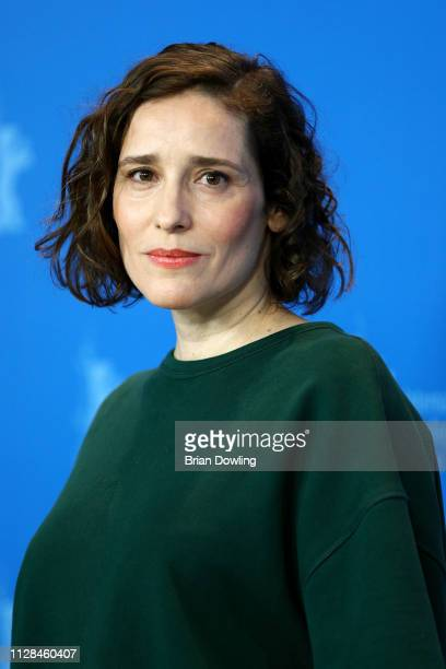 Angeliki Papoulia poses at the The Miracle of the Sargasso Sea photocall during the 69th Berlinale International Film Festival Berlin at Grand Hyatt...