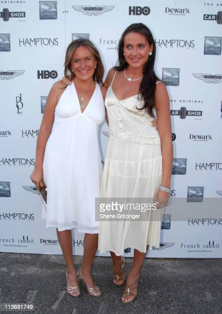 Angelina Anisimova and Anna Anisimova during Hamptons Magazine and DirectTV Present Sneak Peek of New Season of HBO's 'Entourage' at Pink Elephant at...
