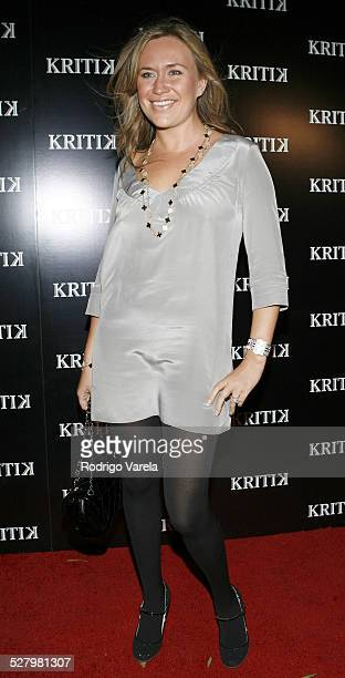 Angelina Anisimova during New Year's Week Miami 2007 Jonathan Cheban Launches Kritik Clothing at Casa Casuarina Arrivals at Casa Casuarina in Miami...