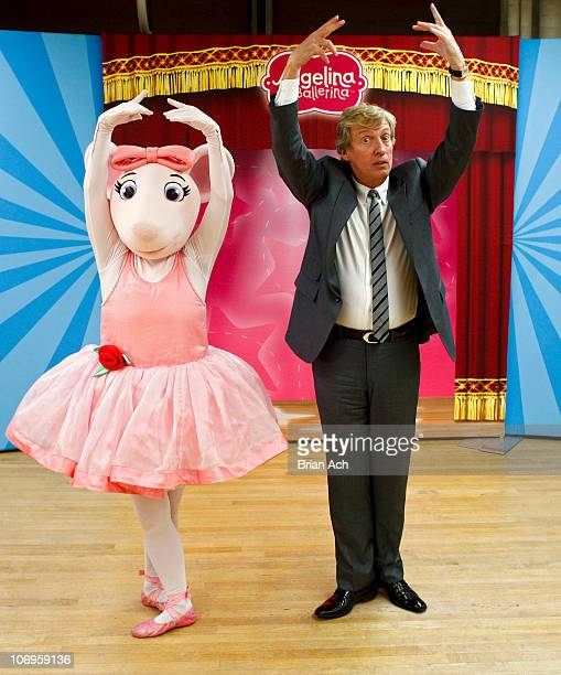 Angelina Ballerina and Nigel Lythgoe Executive Producer to 'American Idol' and 'So You Think You Can Dance' attend First Angelina Ballerina Stars of...