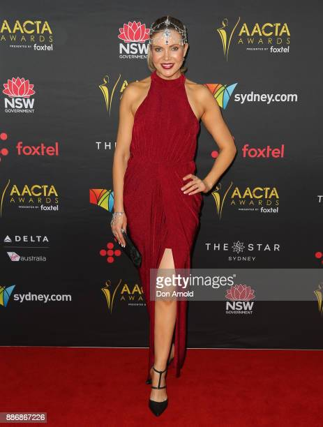 Angelina Bonet poses during the 7th AACTA Awards at The Star on December 6 2017 in Sydney Australia