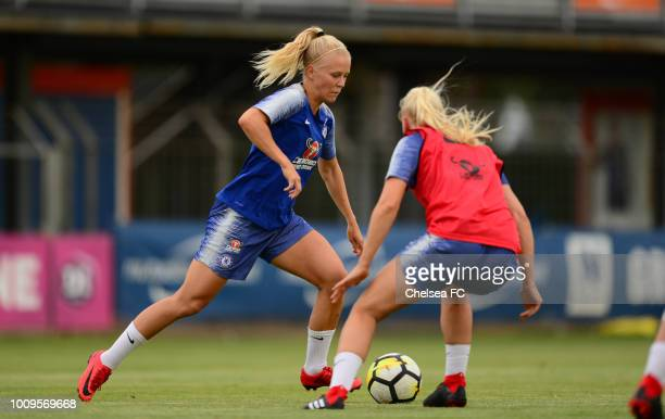 Angelina Engman of Chelsea during their training session on August 01 2018 in Montpellier France