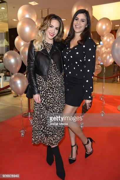 Angelina Heger and Tanja Tischewitsch during the VIP Late Night Shopping Party on March 3 2018 in Hamburg Germany