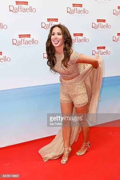 Angelina Heger attends the Raffaello Summer Day 2016 to celebrate the 26th anniversary of Raffaello on June 24 2016 in Berlin Germany