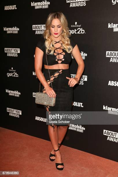 Angelina Heger during the ABOUT YOU AWARDS at the Mehr Theater in Hamburg on May 4 2017 in Hamburg Germany