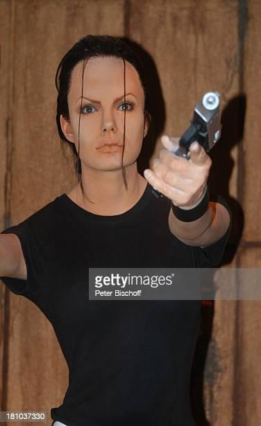 Angelina Jolie als 'Lara Croft' im Film 'Tomb Raider' Wax Museum Wachsfigur Los Angeles LA Kalifornien Californien USA Amerika Nordamerika Reise...