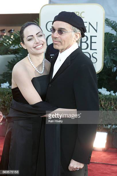 Angelina Jolie and Billy Bob Thornton arrive at the 59th Annual Golden Globe Award show held at the Beverly Hilton Hotel in Beverly Hills California...