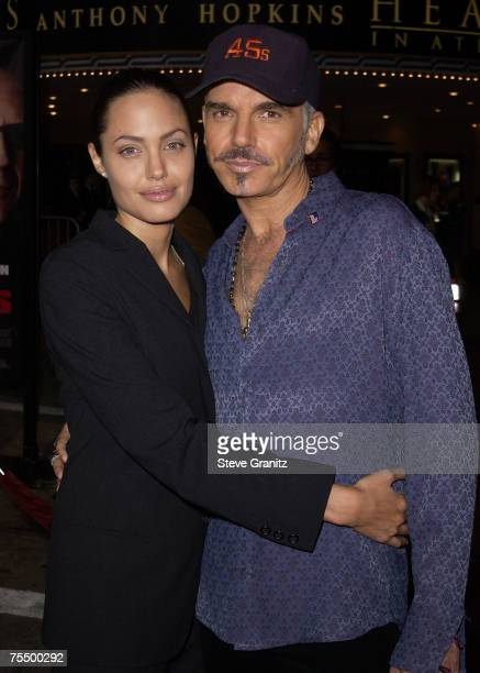 Angelina Jolie and Billy Bob Thornton at the Mann Village Theatre in Westwood California