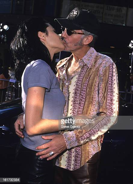 Angelina Jolie and Billy Bob Thornton during Gone in 60 Seconds Los Angeles Premiere at National Theater in Westwood California United States