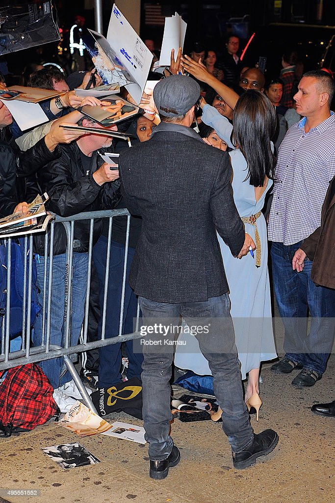 Celebrity Sightings In New York City - November 03, 2015 : News Photo