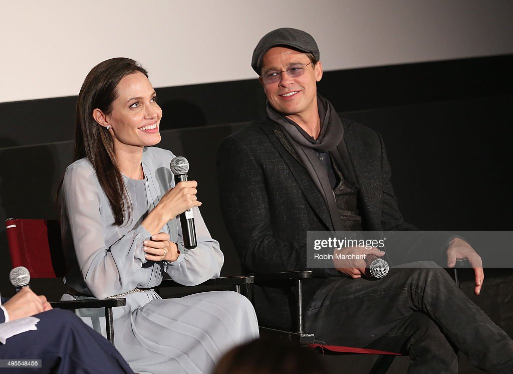 The Academy Of Motion Picture Arts And Sciences Hosts An Official Academy Screening Of BY THE SEA : News Photo