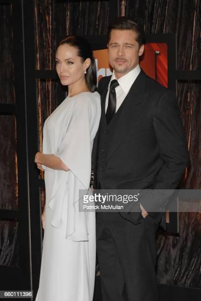 Angelina Jolie and Brad Pitt attend The 14th Annual Critics' Choice Awards at Santa Monica Civic Center on January 8 2009 in Santa Monica California