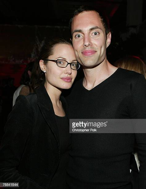 Angelina Jolie and brother James Haven *Exclusive*