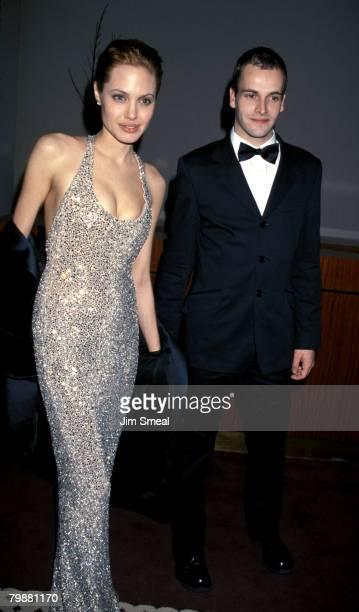 Angelina Jolie and Jonny Lee Miller