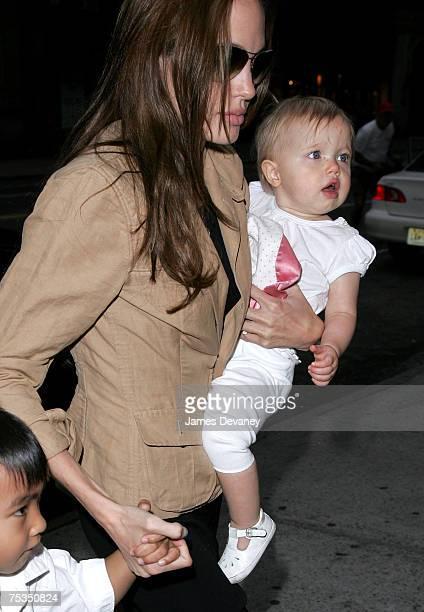 Angelina Jolie and Shiloh