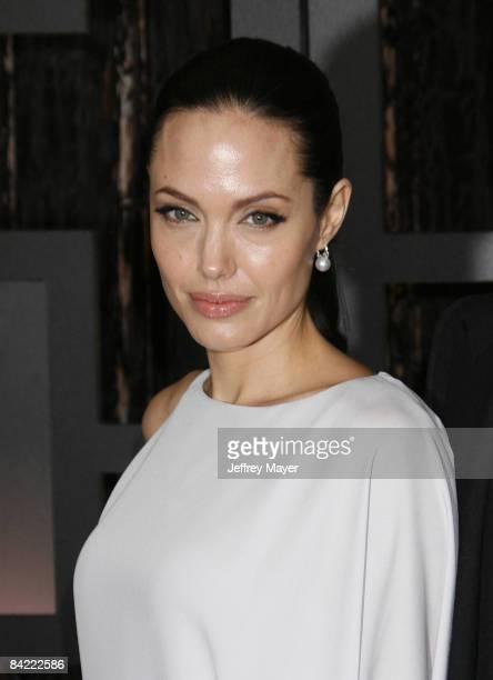 Angelina Jolie arrives at the 14th Annual Critics' Choice Awards at the Santa Monica Civic Center on January 8, 2009 in Santa Monica, California.