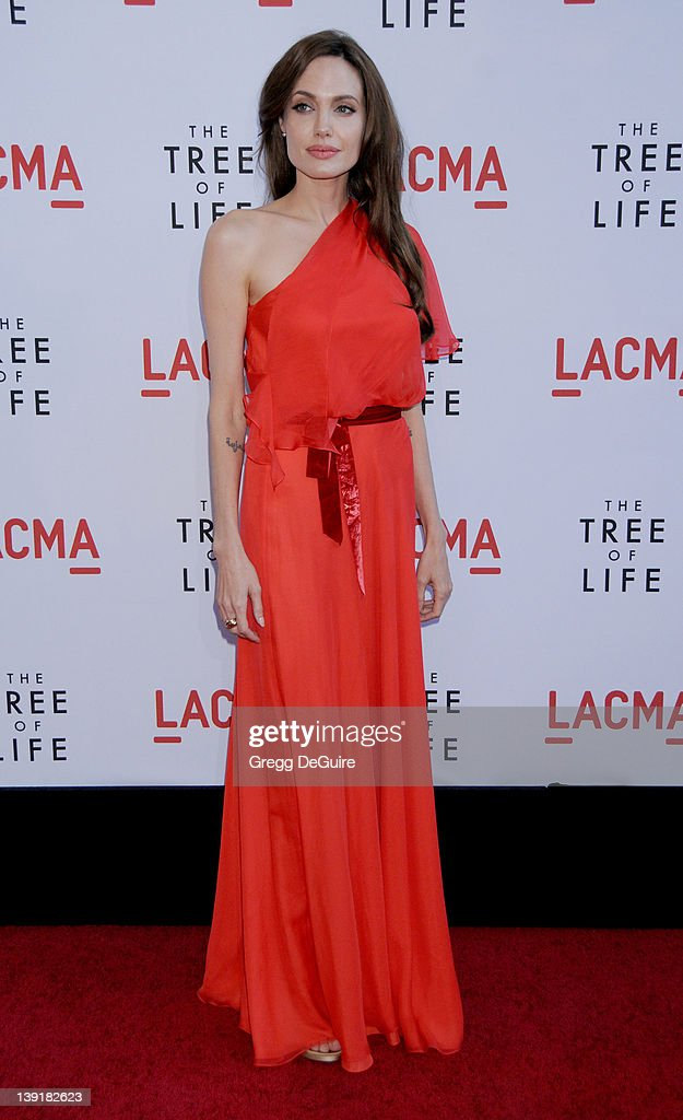 """""""The Tree Of Life"""" Los Angeles Premiere : News Photo"""