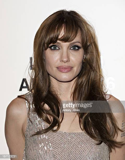 Angelina Jolie Arriving For The Gala Premiere Of Salt At The Empire Leicester Square London