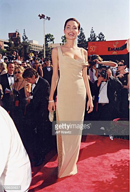 Angelina Jolie at the 1998 Emmy Awards in Los Angeles