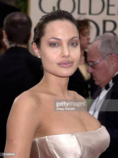 Angelina Jolie at the Beverly Hilton Hotel in Beverly Hills California