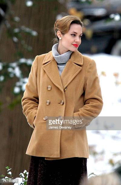 Angelina Jolie at the Long Island in Long Island New York