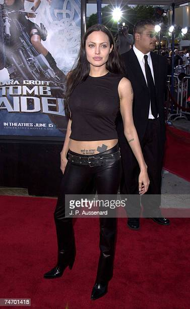 Angelina Jolie at the Mann's Village Theater in Westwood California
