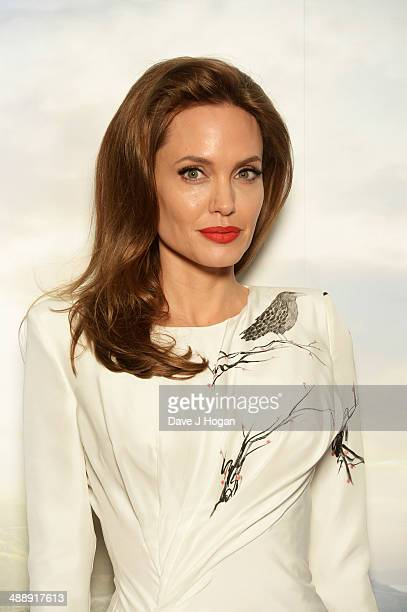 Angelina Jolie attends a photocall for 'Maleficent' at The Corinthia Hotel on May 9 2014 in London England